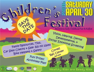 Children's Festival Cortez Colorado Saturday, April 30th, 2016