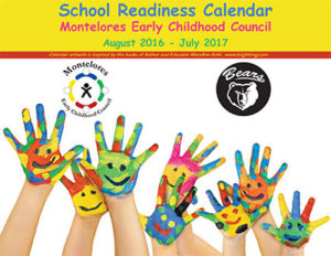 MECC School Readiness Calendar 2016-2017