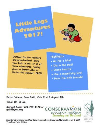 Little Legs Adventures 2017