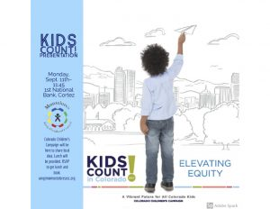 Kids Count Presentation Flyer - Colorado Children's Campaign