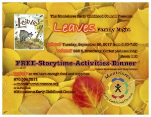 MECC Family Night September 2017