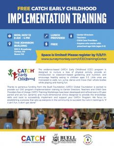 CATCH Early Childhood - Implementation Training