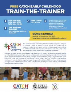 CATCH Early Childhood - Train the Trainer