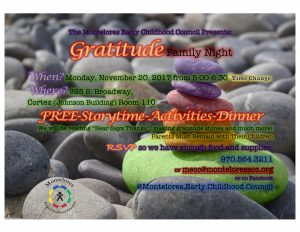 MECC Family Night November 2017